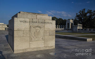 Photograph - World War II Memorial 1 by ELDavis Photography
