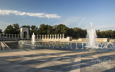 Photograph - World War II Memorial 3 by ELDavis Photography