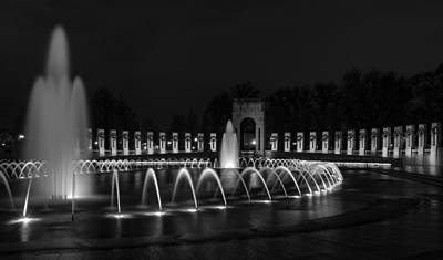 Photograph - World War II Memorial by Ed Clark