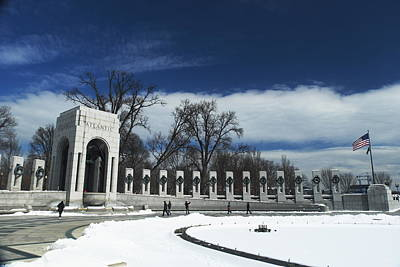Photograph - World War II Memorial by George Taylor