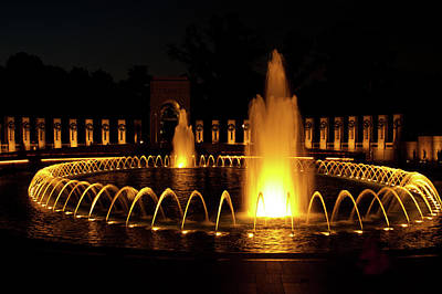 Photograph - World War II Memorial by Paul Mangold