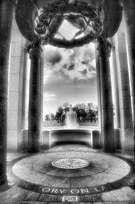World War II Memorial Art Print