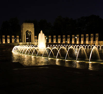 World War Memorial Art Print by Kim Hojnacki