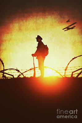 Photograph - World War One Soldier by Lee Avison