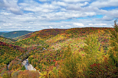 Photograph - Worlds End State Park Lookout 7 by Steve Harrington