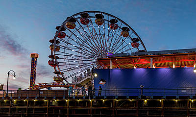 Photograph - World's First Solar Powered Ferris Wheel  by Gene Parks