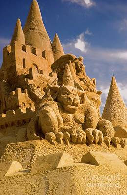 Photograph - Worlds Largest Sand Castle by Bob Pardue
