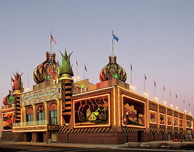 World's Only Corn Palace 2017-18 Art Print