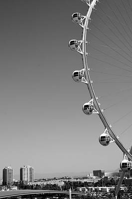 Photograph - World's Tallest Wheel In Las Vegas by Alex King