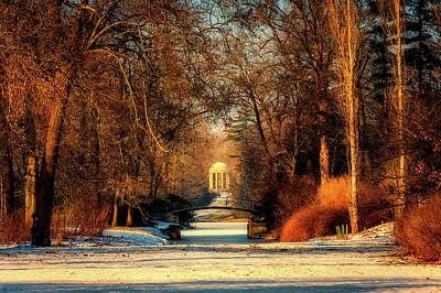 Photograph - Worlitz Park In Winter by Pixabay