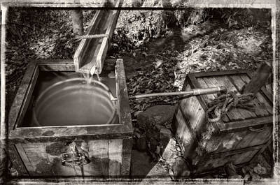 Photograph - Worm Box And Thump Keg With Border by Greg Mimbs