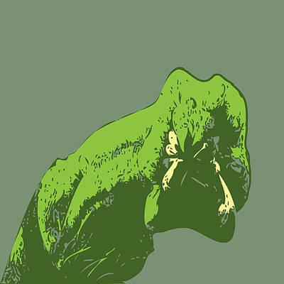 Worm Monster Art Print