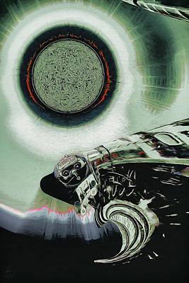 Digital Art - Wormhole Crossing by Pennie McCracken