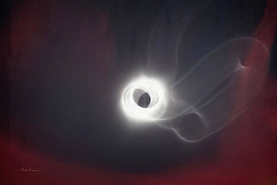 Photograph - Wormhole Eclipse by Mick Anderson