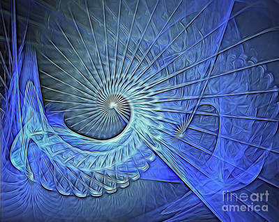 Digital Art - Wormhole by Ed Churchill