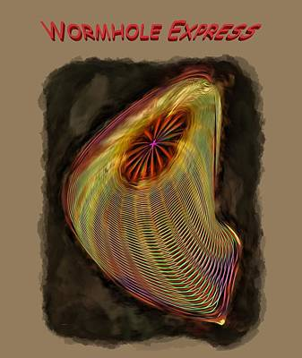 Photograph - Wormhole Express by John M Bailey