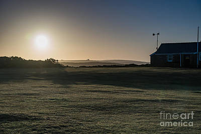 Worms Head Sunrise Print by Keith Thorburn LRPS