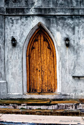 Photograph - Worn Door by Christopher Holmes