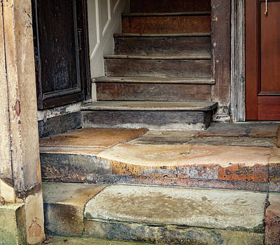 Photograph - Worn Steps by Jean Noren