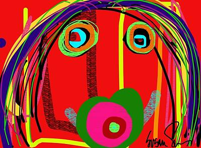 Digital Art - Worries Worries All Day Long by Susan Fielder
