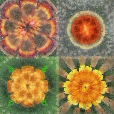 Worrywart Vulnerable Flower  Id 16165-001616-82560 Art Print by S Lurk