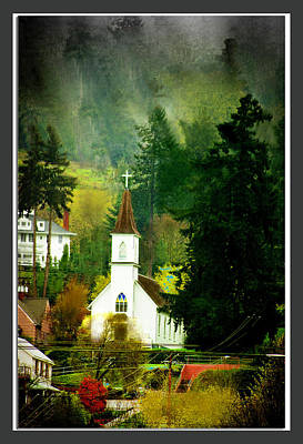 Worship In Kalama Art Print by Dale Stillman
