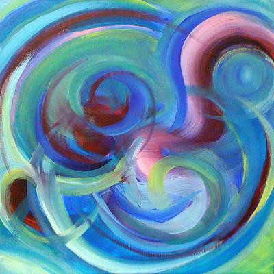 Deborah Brown Painting - Worship Warfare by Deborah Brown Maher