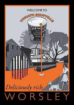 Heinz Painting - Worsley Poster By Eric Jackson by Eric Jackson