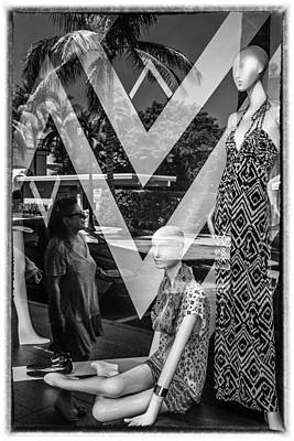 Ethereal - Worth Ave Reflections 0487 by Bob Neiman
