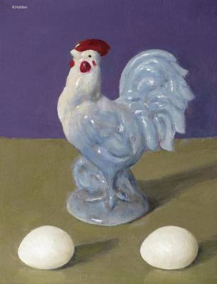 Painting - Worth Crowing About by Robert Holden