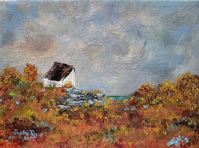 Painting - Worth The Climb by Judith Rhue