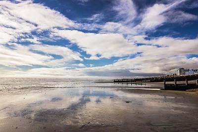 Photograph - Worthing Beach by David Warrington