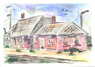 Worthington Depot Art Print