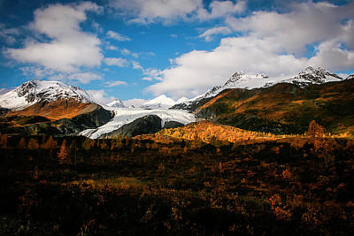 Photograph - Worthington Glacier  by Benjamin Dahl