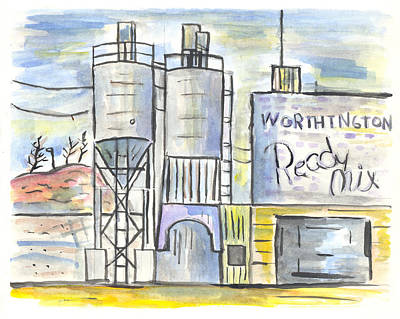 Worthington Ready Mix Art Print