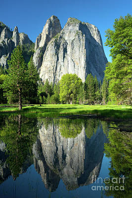 Photograph - Wosky Pond In Yosemite by Benedict Heekwan Yang