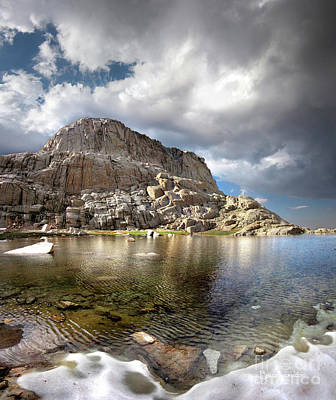 Modern Man Surf - Wotans Throne Over Trail Camp Lake 2 - Mt Whitney Trail by Bruce Lemons