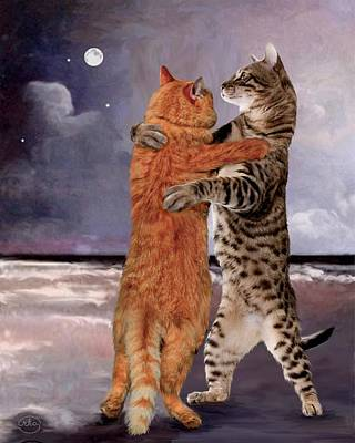 Would You Like To Dance Art Print by Ron Chambers