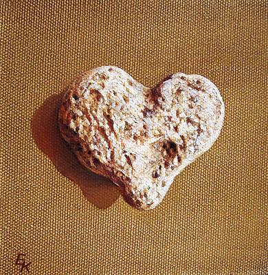 Painting - Wounded Heart by Elena Kolotusha