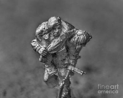 Wounded Warrior Art Print