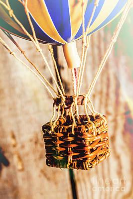 Hot Air Balloon Photograph - Woven Air Craft by Jorgo Photography - Wall Art Gallery