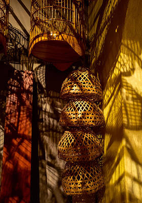 Woven Baskets Art Print