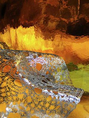 Woven Palette Art Print by Gail Butters Cohen