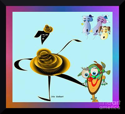 Digital Art - Wow.  What A Great Show by Iris Gelbart