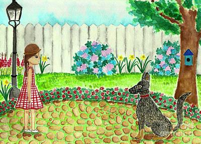 Winter Animals - WOYN - Drawing #1 by Tina Wijesiri