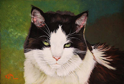 Painting - Wozzle - Domestic Cat by Antonio Marchese
