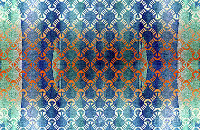 Tapestry - Textile - Wp_04 by Jane Biven