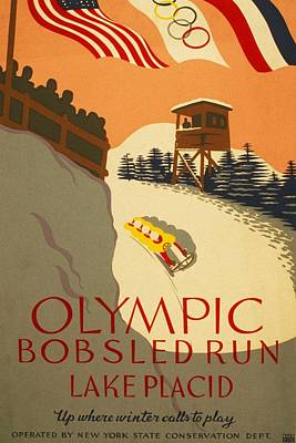 Digital Art - Wpa Olympic by David Lane