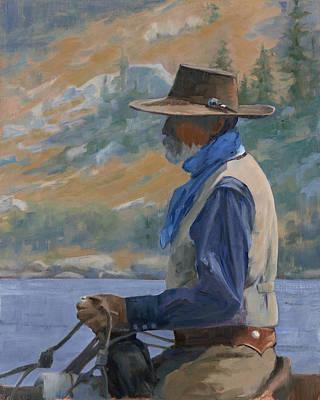 Painting - Wrangler by Sharon Weaver