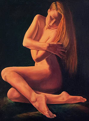 Painting - Wrapped In Beauty by John Entrekin